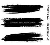 set of grunge banners.grunge...   Shutterstock .eps vector #795583528