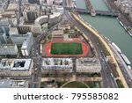 paris  france   march 23  2016  ... | Shutterstock . vector #795585082