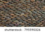 pattern stone wall texture for... | Shutterstock . vector #795590326
