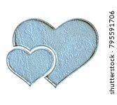 Weathered Blue Stone Style...