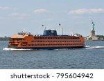 new york city   aug. 27  staten ... | Shutterstock . vector #795604942