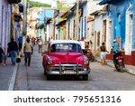 trinidad  cuba   november 22 ... | Shutterstock . vector #795651316
