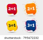 special offer icons. take two...   Shutterstock .eps vector #795672232
