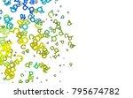 light blue  yellow vector...   Shutterstock .eps vector #795674782