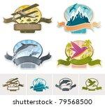 landmarks  adventures   travel... | Shutterstock . vector #79568500