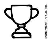 trophy won prize