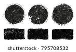 vector grunge stamps.grunge... | Shutterstock .eps vector #795708532