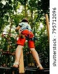 children's active recreation   Shutterstock . vector #795712096