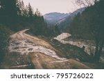 magnificent natural landscapes... | Shutterstock . vector #795726022