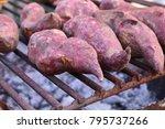 Small photo of roasted yam sweet potato