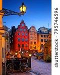 stockholm  sweden  september 7  ... | Shutterstock . vector #795746596