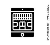 ecommerce    mobile shop    Shutterstock .eps vector #795762022