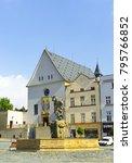 olomouc  czech republic  ... | Shutterstock . vector #795766852