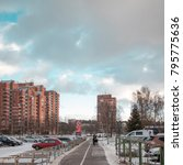 riga  latvia   january 8  2018  ... | Shutterstock . vector #795775636