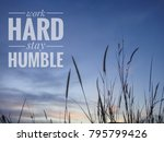 inspirational quote with phrase ... | Shutterstock . vector #795799426