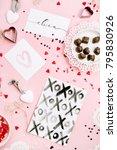 valentine's day or love...   Shutterstock . vector #795830926