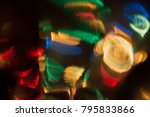 surrealistic abstract background | Shutterstock . vector #795833866