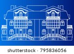 building home vector eps | Shutterstock .eps vector #795836056