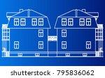 building house vector | Shutterstock .eps vector #795836062