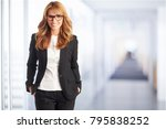 a well dressed happy...   Shutterstock . vector #795838252