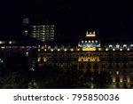 Small photo of MILAN, ITALY, OCTOBER 22, 2017: View of Excelsior Hotel Gallia (Albergo Gallia) at night in Milan, Italy.