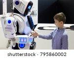 rostov  russia   december 28 ...   Shutterstock . vector #795860002