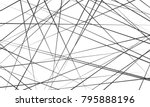 chaotic abstract lines abstract ... | Shutterstock .eps vector #795888196