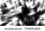 black and white pattern for... | Shutterstock . vector #795891805