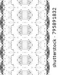 black and white mosaic pattern... | Shutterstock . vector #795891832