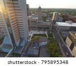 Downtown birds eye view