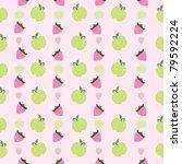 vector fruit background | Shutterstock .eps vector #79592224