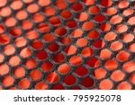 fabric texture background. | Shutterstock . vector #795925078