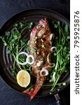 Grilled Whole Red Snapper With...