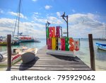 cancun  mexico   07 january... | Shutterstock . vector #795929062