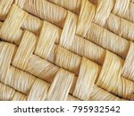 macro close up of natural woven ... | Shutterstock . vector #795932542