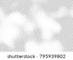 abstract halftone wave dotted... | Shutterstock .eps vector #795939802