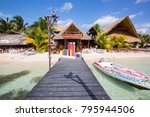 cancun  mexico   07 january... | Shutterstock . vector #795944506