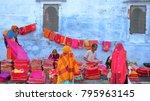 jodhpur  rajasthan  india  ... | Shutterstock . vector #795963145