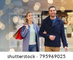 sale  consumerism and people... | Shutterstock . vector #795969025