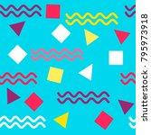 seamless  vector  abstract... | Shutterstock .eps vector #795973918