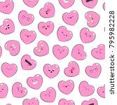 seamless pattern  background ... | Shutterstock .eps vector #795982228