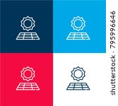 solar four color material and...