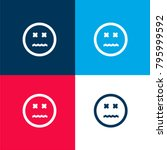 annulled emoticon square face...