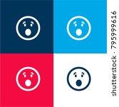 surprised emoticon square face...