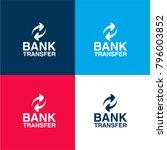 bank transfer logo four color...