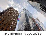 new york  usa   sep 16  2017 ... | Shutterstock . vector #796010368