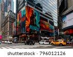 new york  usa   sep 16  2017 ... | Shutterstock . vector #796012126
