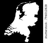 high detailed vector map  ... | Shutterstock .eps vector #796012828