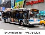 new york  usa   sep 16  2017 ... | Shutterstock . vector #796014226