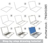 kid game to develop drawing...   Shutterstock .eps vector #796041085